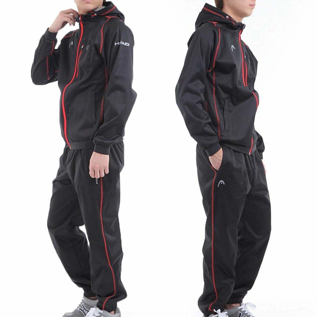 アロール21別注!! ヘッド高機能ストレッチ素材サウナスーツ